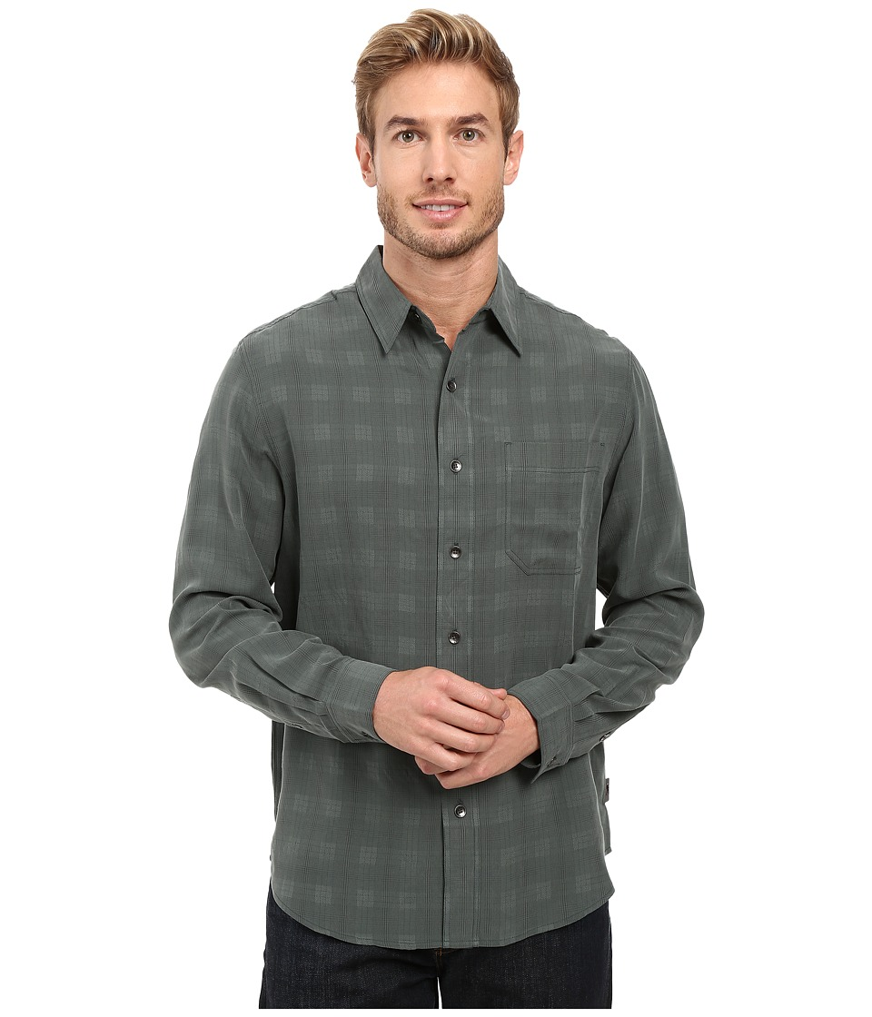 Royal Robbins - San Juan Plaid Long Sleeve Shirt (Green Gables) Men's Long Sleeve Button Up