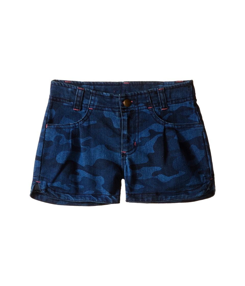 Carhartt Kids - Denim Camo Shorts (Little Kids) (Denim Camo) Girl's Shorts