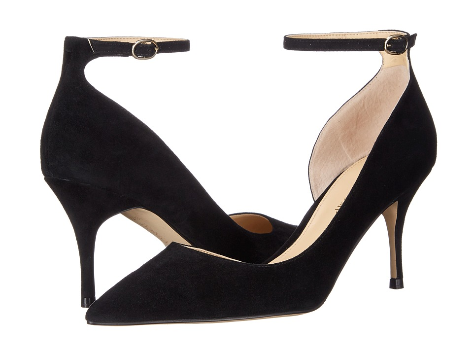 Ivanka Trump Brita (Black Suede) High Heels