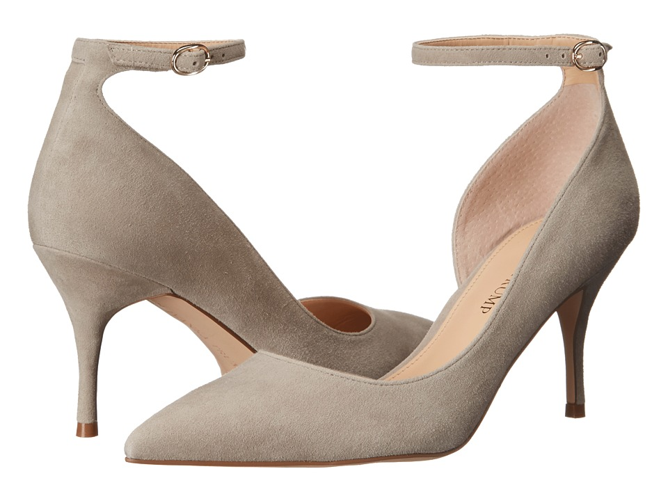 Ivanka Trump - Brita (Light Mushroom Suede) High Heels