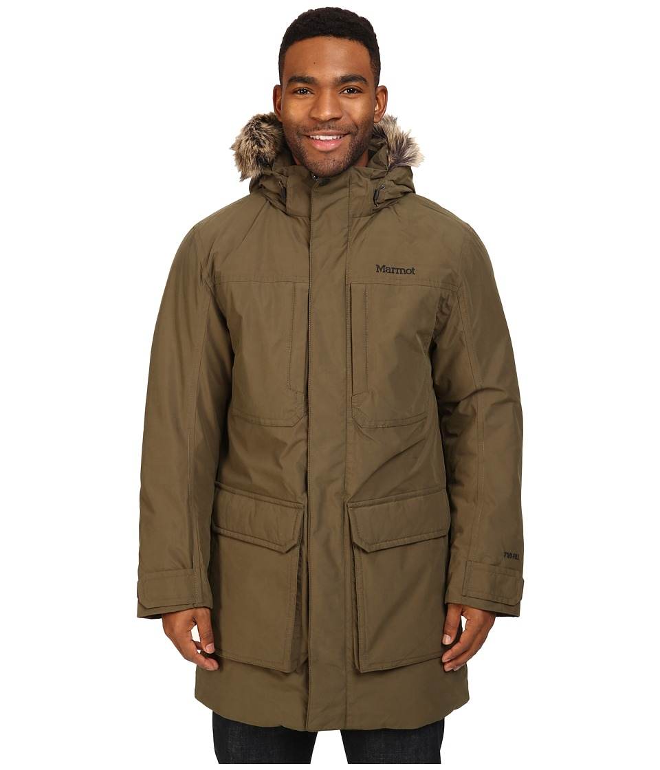 Marmot - Longwood Jacket (Deep Olive) Men's Coat