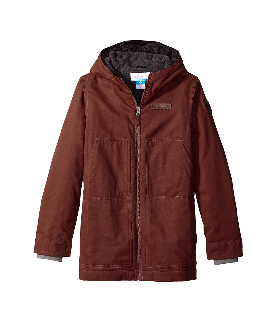 Columbia Kids - Loma Vista Hooded Jacket (Little Kids/Big Kids) (Deep Rust) Boy's Coat