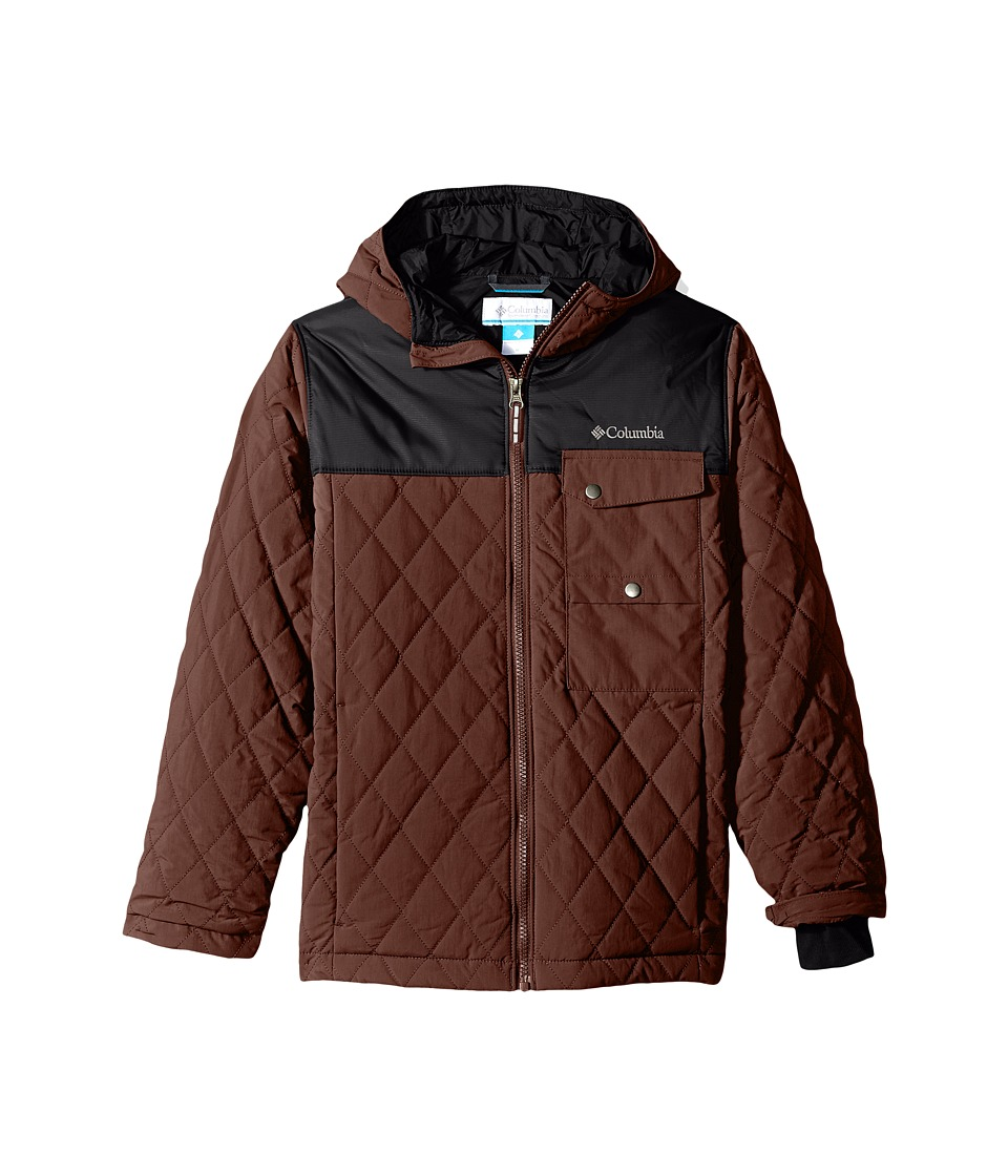 Columbia Kids - Lookout Cabin Jacket (Little Kids/Big Kids) (Deep Rust/Black) Boy's Coat