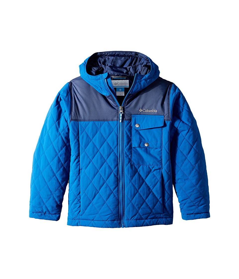 Columbia Kids - Lookout Cabin Jacket (Little Kids/Big Kids) (Marine Blue/Collegiate Navy) Boy's Coat