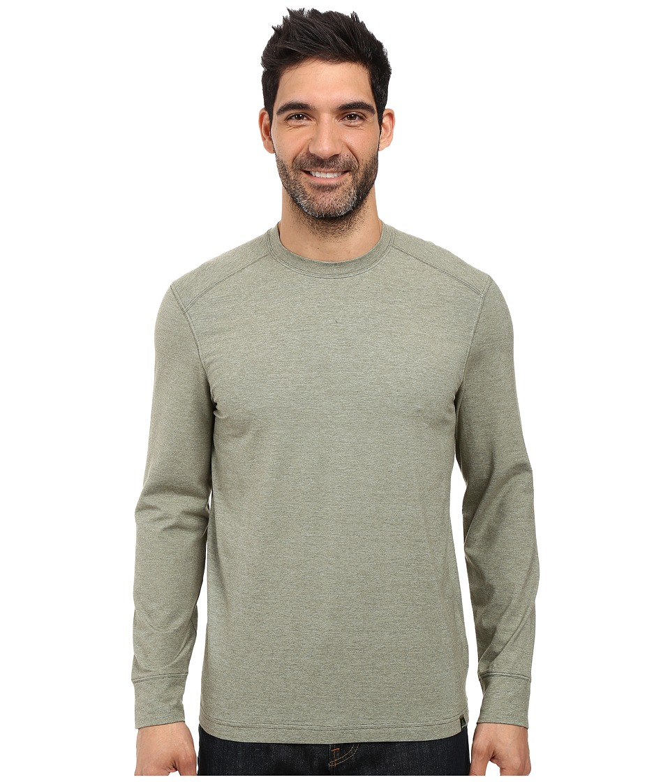 Prana - Decco Crew (Cargo Green) Men's Long Sleeve Pullover