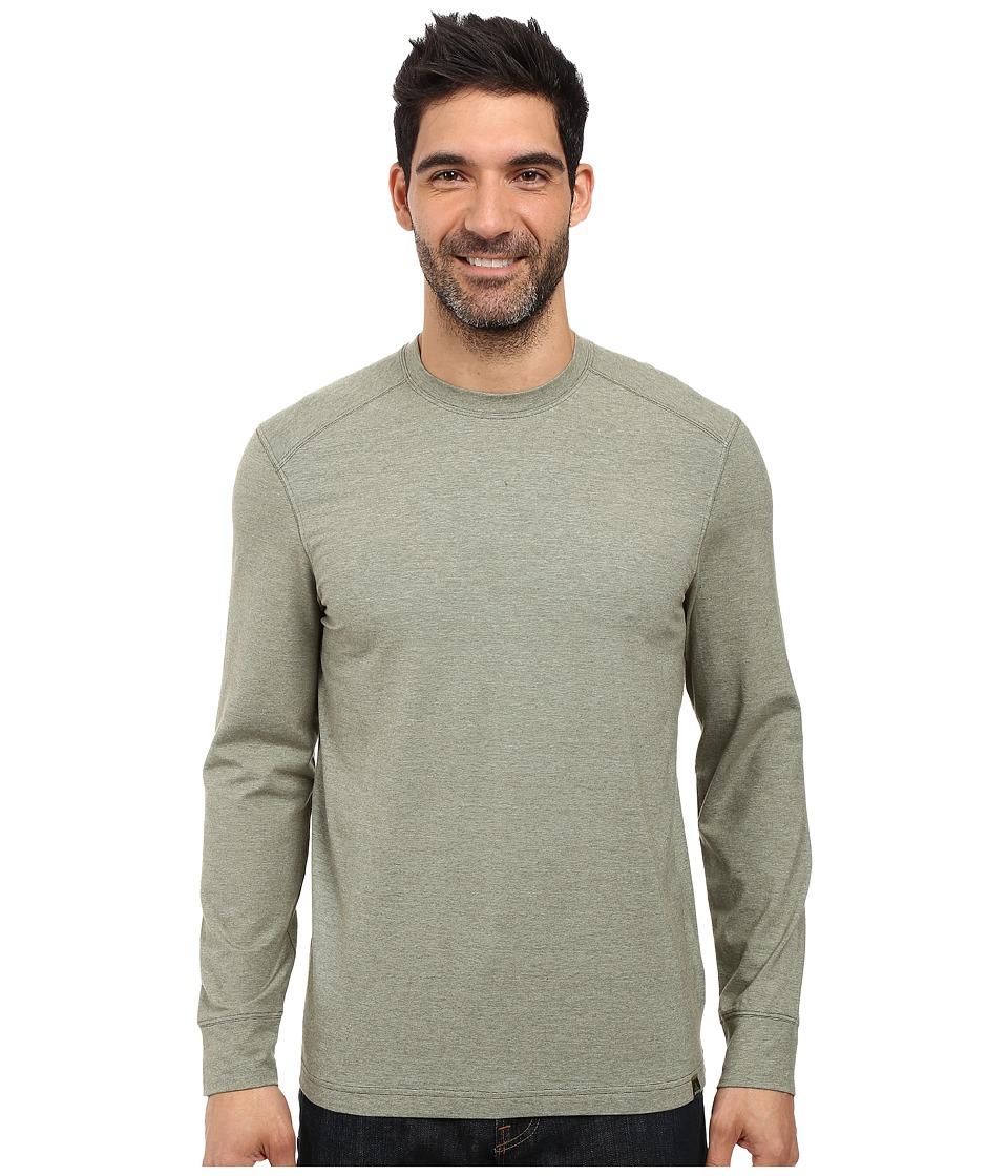 Prana - Decco Crew (Cargo Green) Men's Long Sleeve Pullover