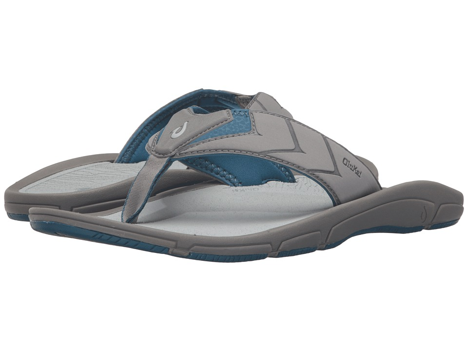 OluKai - Kaku (Fog/Light Grey) Men's Sandals