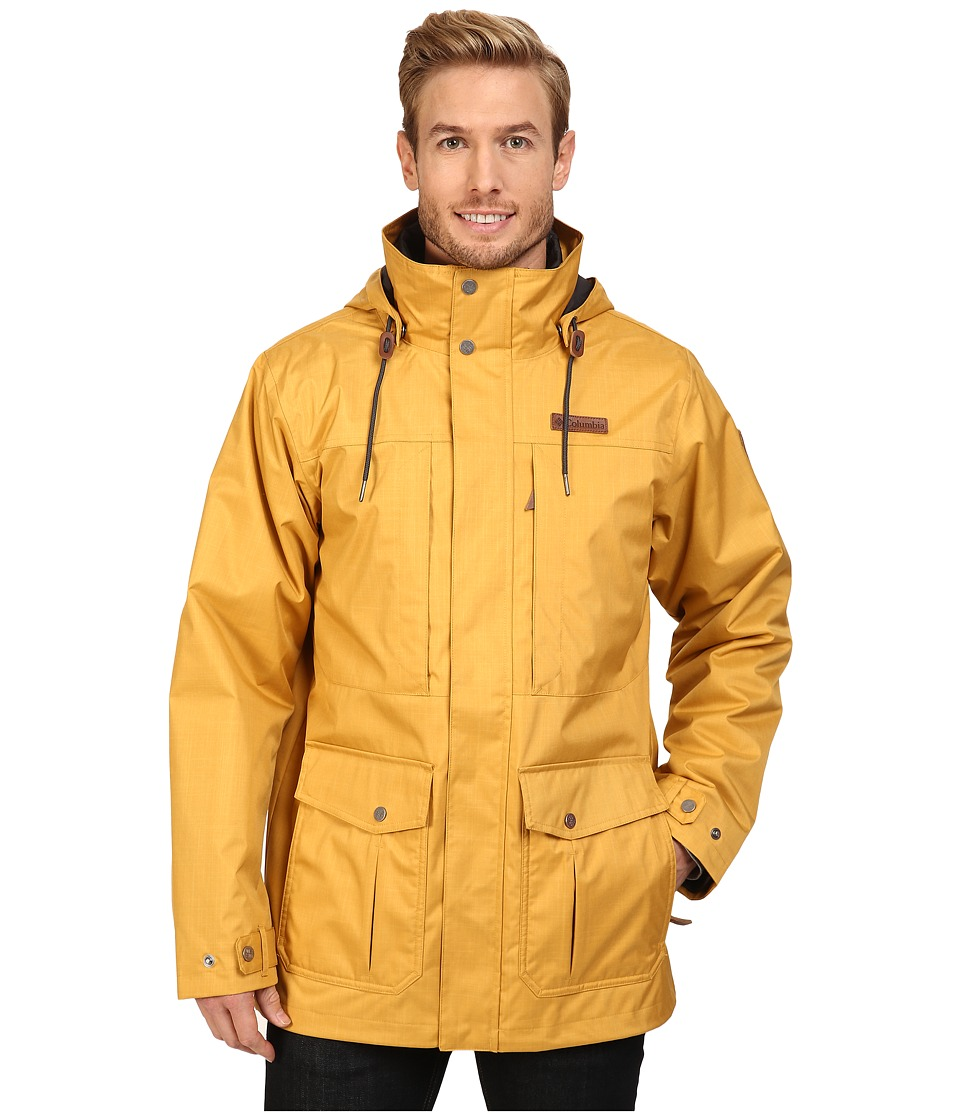 Columbia - Horizons Pine Interchange Jacket (Pilsner/Shark) Men's Coat