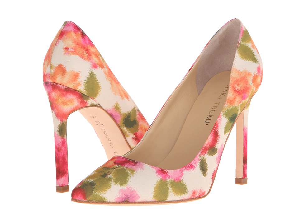 Ivanka Trump Carra3 (Peach Multi) High Heels