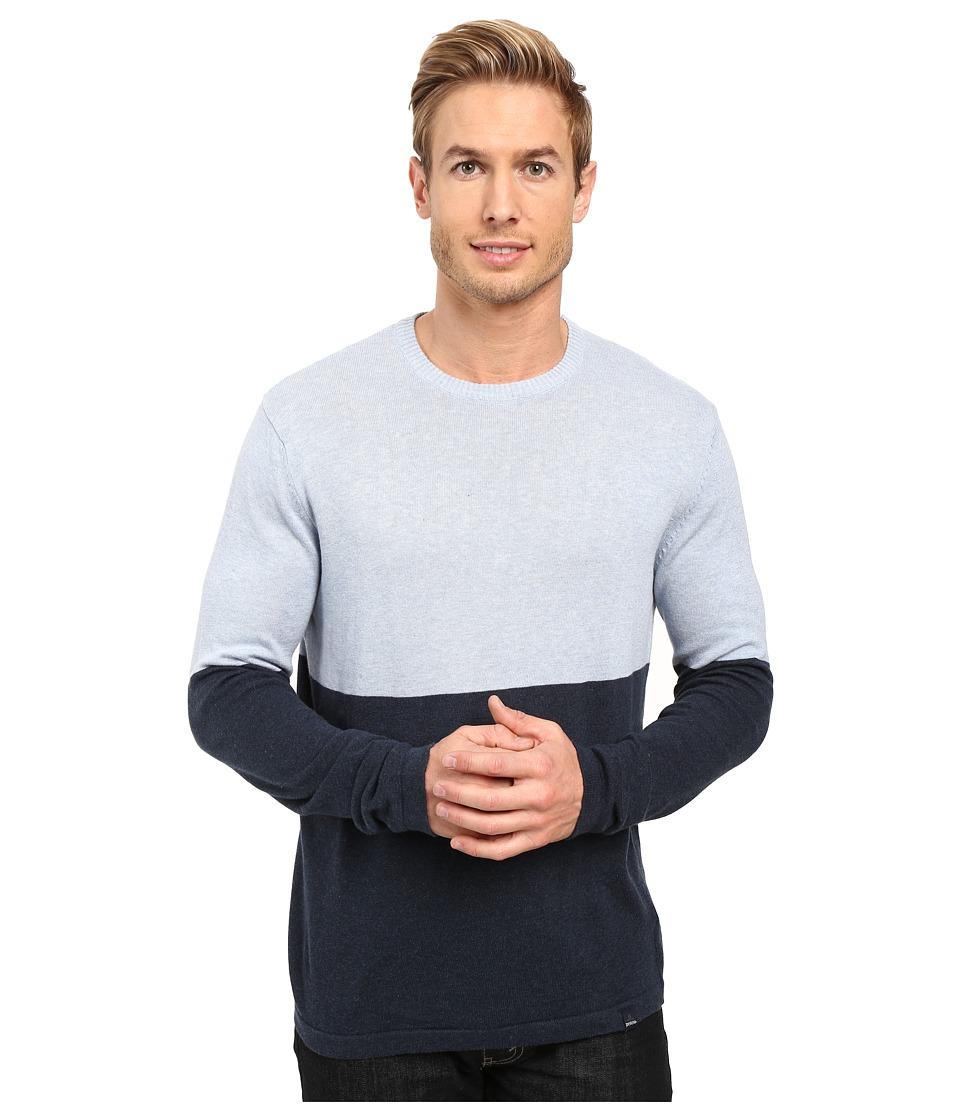 Prana - Color Block Sweater (Nautical) Men's Sweater