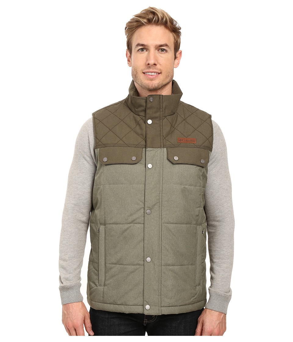 Columbia - Ridgestone Vest (Peatmoss) Men's Coat