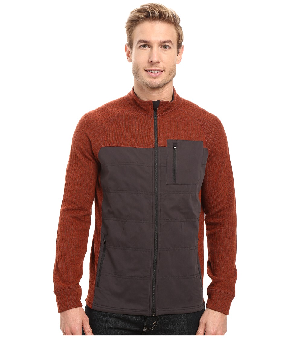 Prana Appian Sweater (Henna) Men
