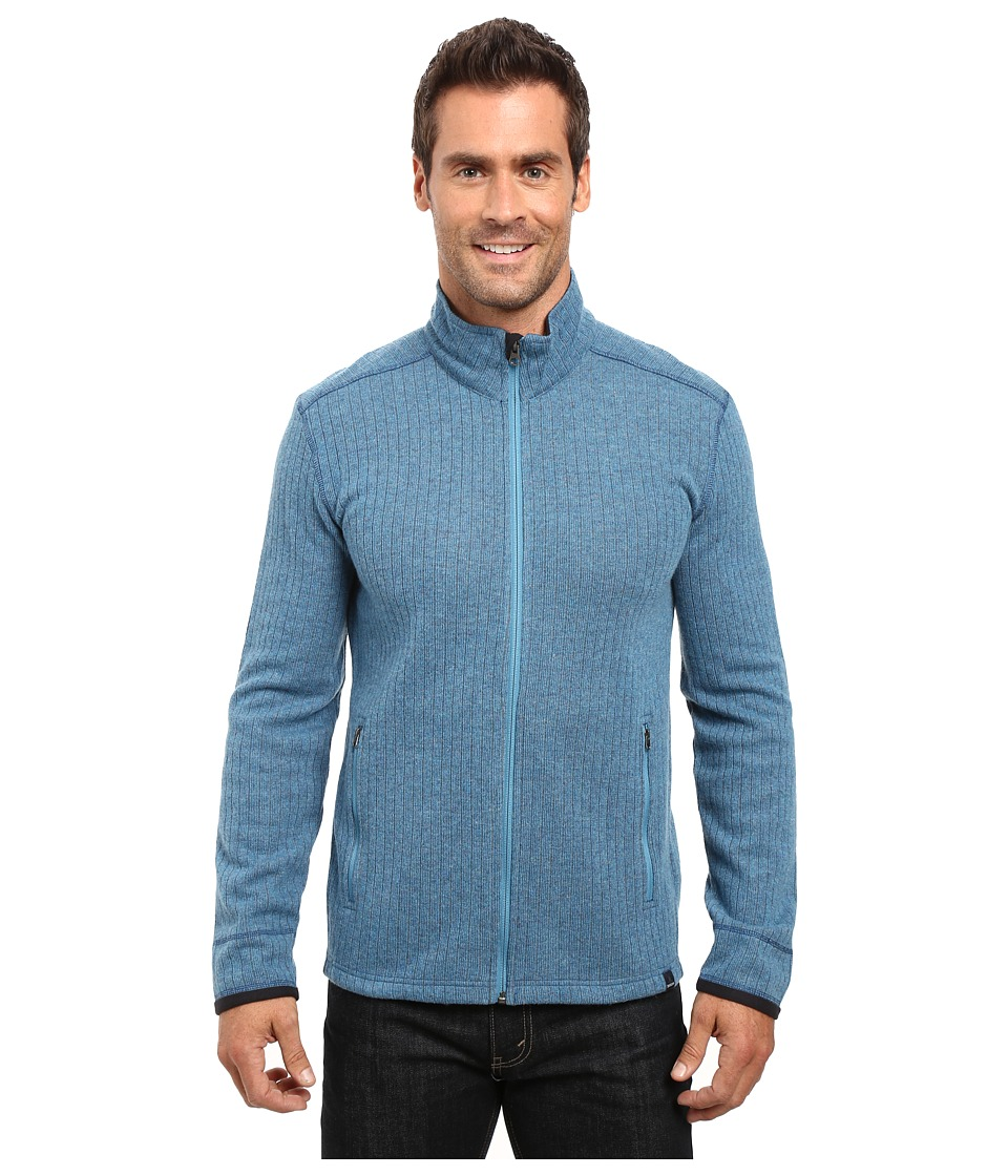 Prana - Barclay Sweater (Mosaic Blue) Men's Coat