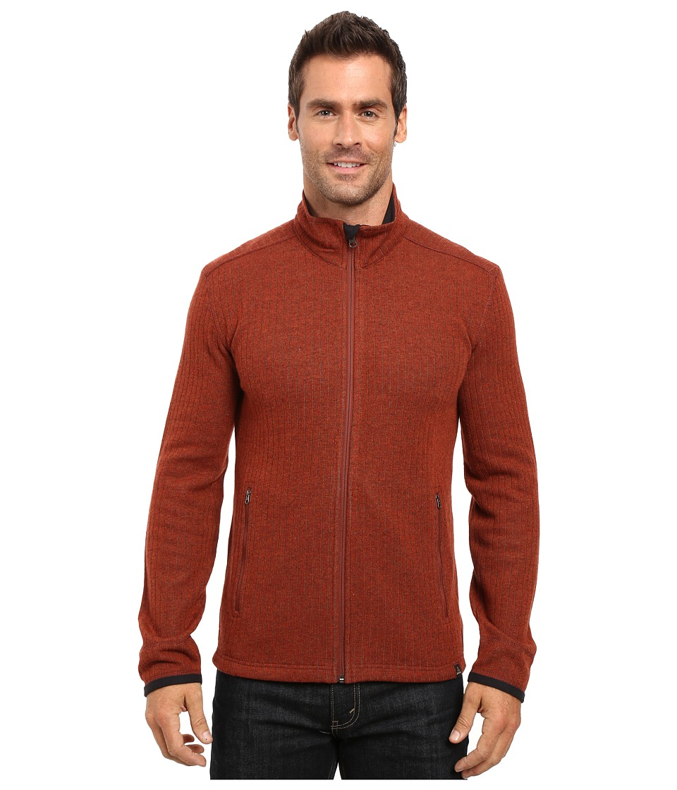 Prana Barclay Sweater (Henna) Men