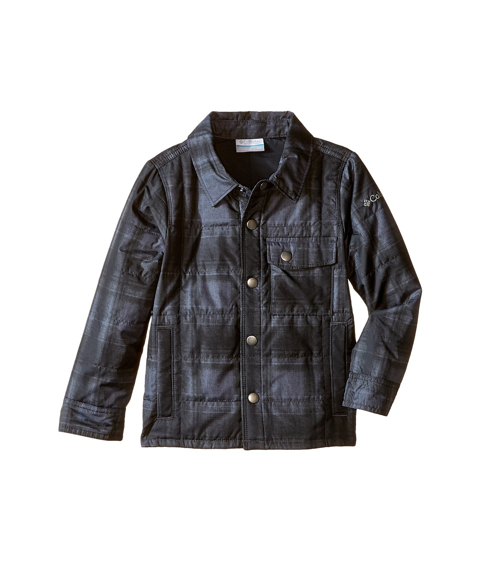 Columbia Kids - Agent Avalanche Jacket (Little Kids/Big Kids) (Black Plaid) Boy's Coat