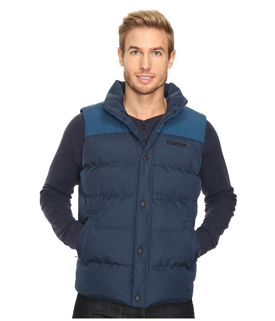 Marmot - Fordham Vest (Denim) Men's Vest