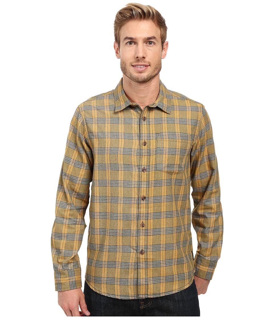 Prana - Alabaster Flannel (Cargo Green) Men's Clothing