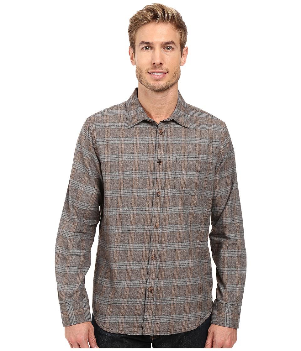 Prana - Alabaster Flannel (Mud) Men's Clothing