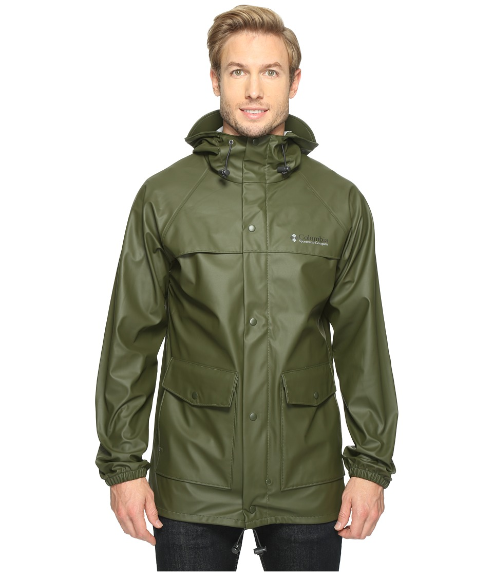 Columbia - Ibex Jacket (Surplus Green) Men's Coat