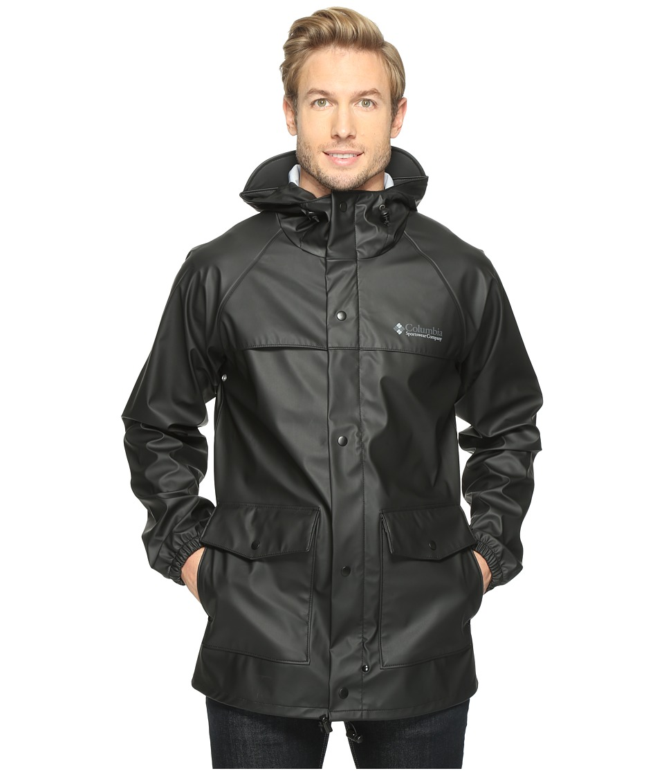 Columbia - Ibex Jacket (Black) Men's Coat