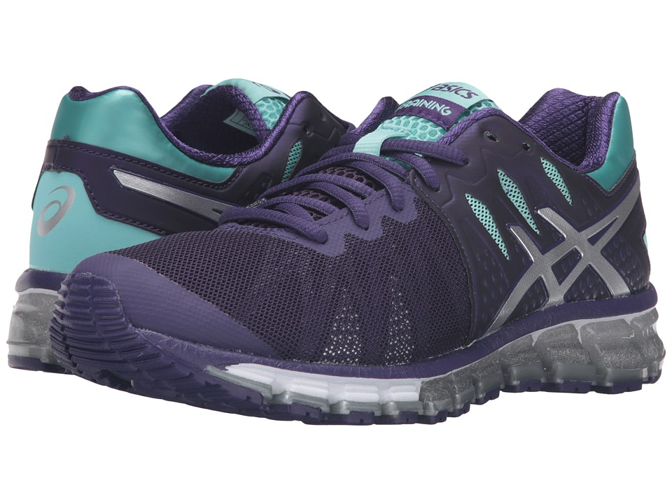 ASICS - Gel-Quantum 180 TR (Parachute Purple/Silver/Aruba Blue) Women's Cross Training Shoes