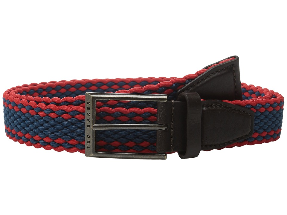 Ted Baker - Treeste (Coral) Men's Belts