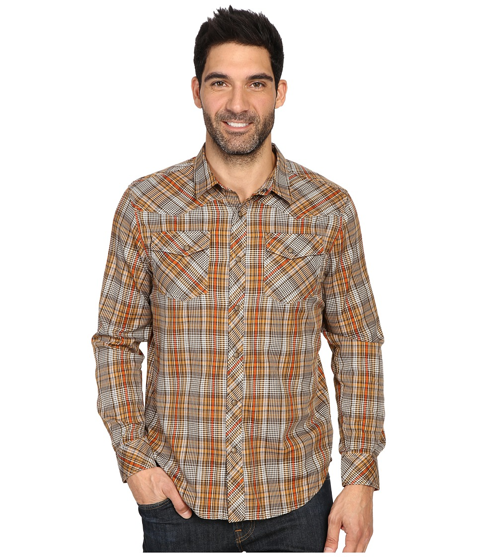 Prana - Holdstad Shirt (Cumin) Men's Long Sleeve Button Up