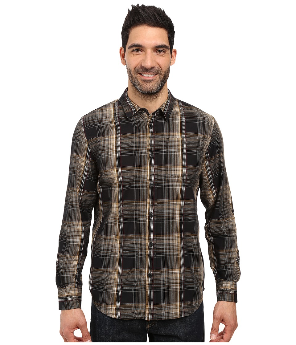 Prana - Rennin Shirt (Black) Men's Clothing