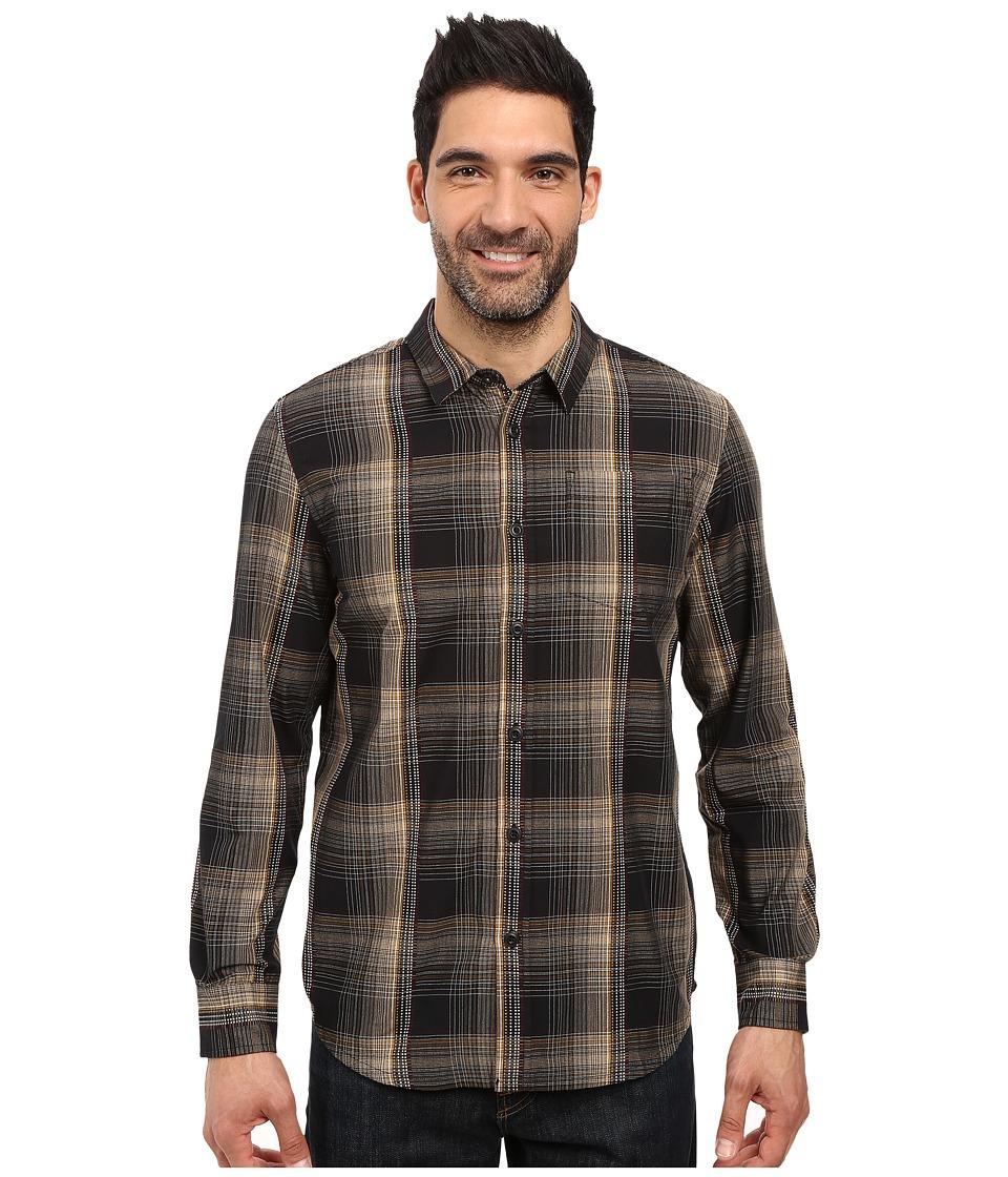 Prana - Rennin Shirt (Black) Men's Clothing
