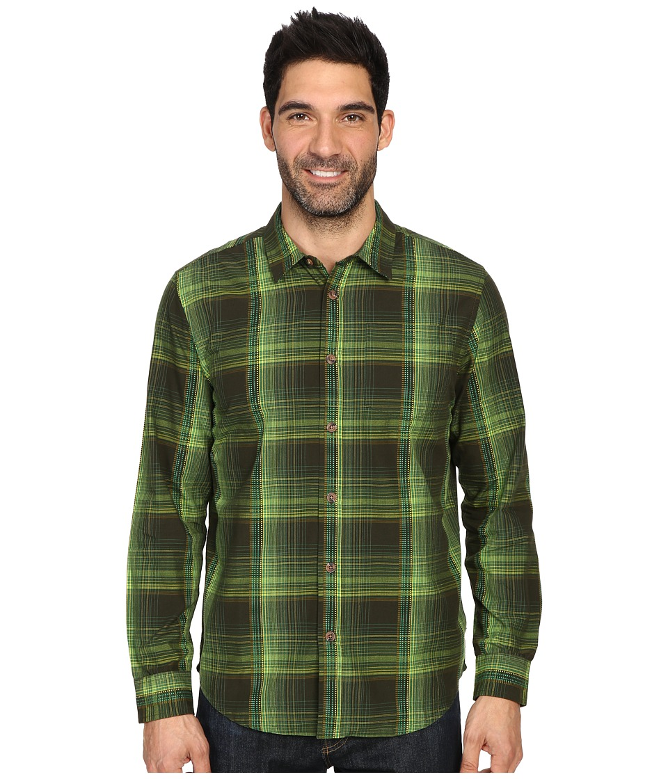 Prana - Rennin Shirt (Dark Olive) Men's Clothing