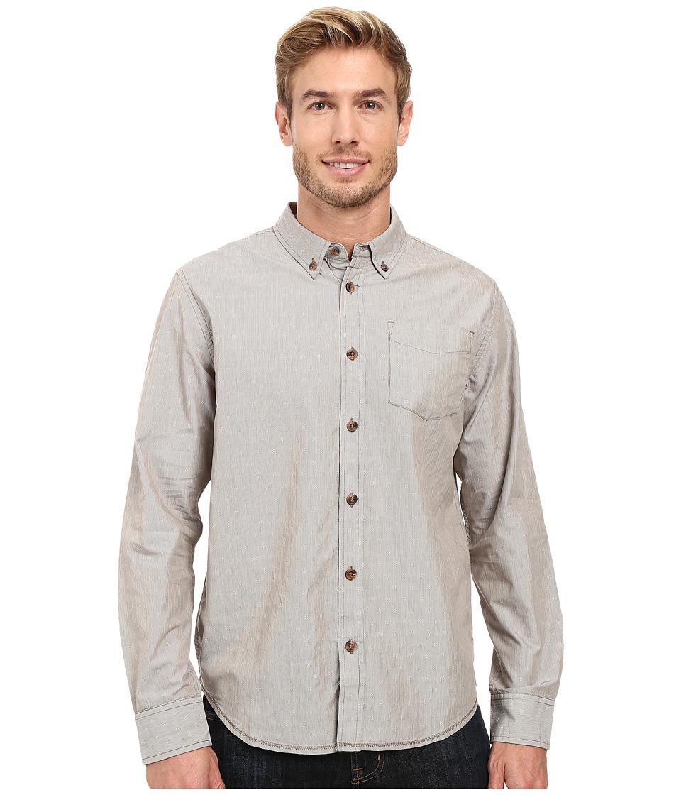 Prana - Reinhold Shirt (Mud) Men's Clothing