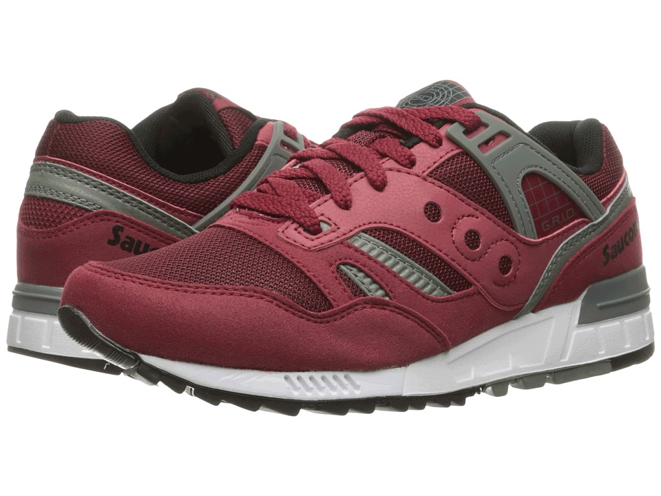 Saucony Originals - Grid SD (Red) Men's Classic Shoes