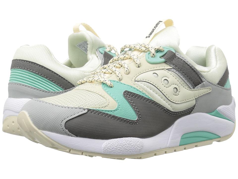 Saucony Originals Grid 9000 (Light Tan/Charcoal/Mint) Men's Classic Shoes