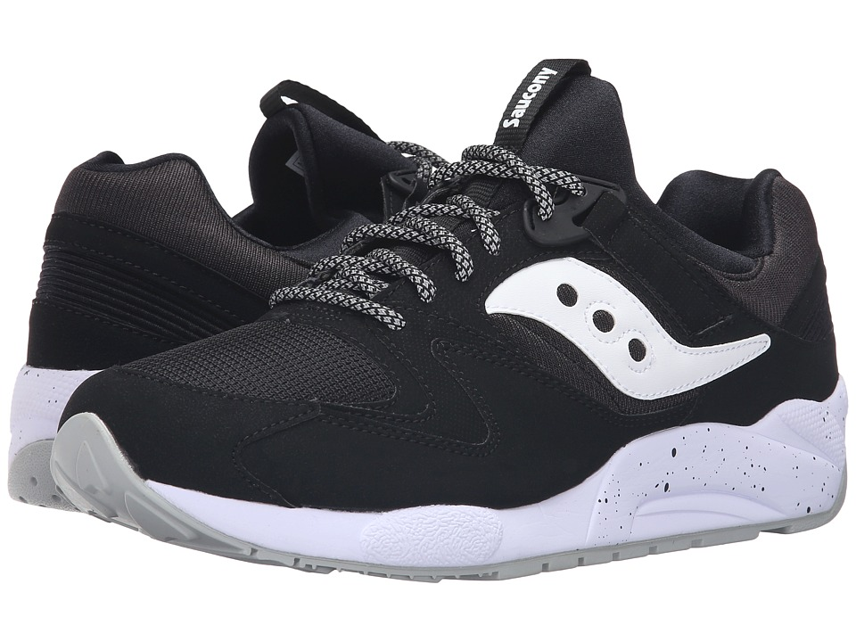 Saucony Originals - Grid 9000 (Black/White) Men's Classic Shoes