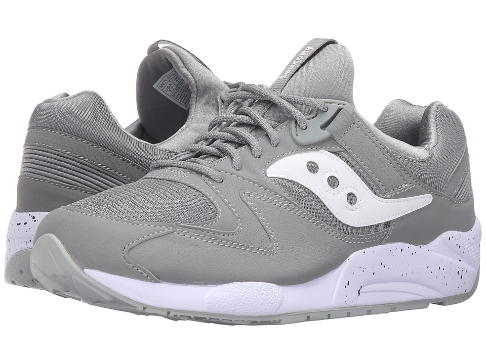 Saucony Originals - Grid 9000 (Grey/White) Men's Classic Shoes