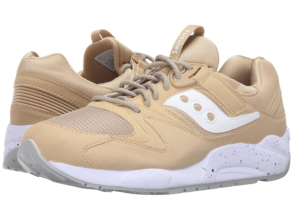 Saucony Originals - Grid 9000 (Wheat/White) Men's Classic Shoes
