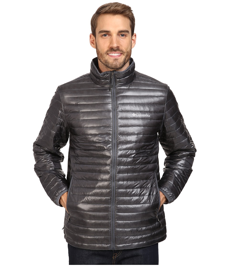 Columbia - Platinum Plus 740 TurboDown Jacket (Graphite) Men's Coat