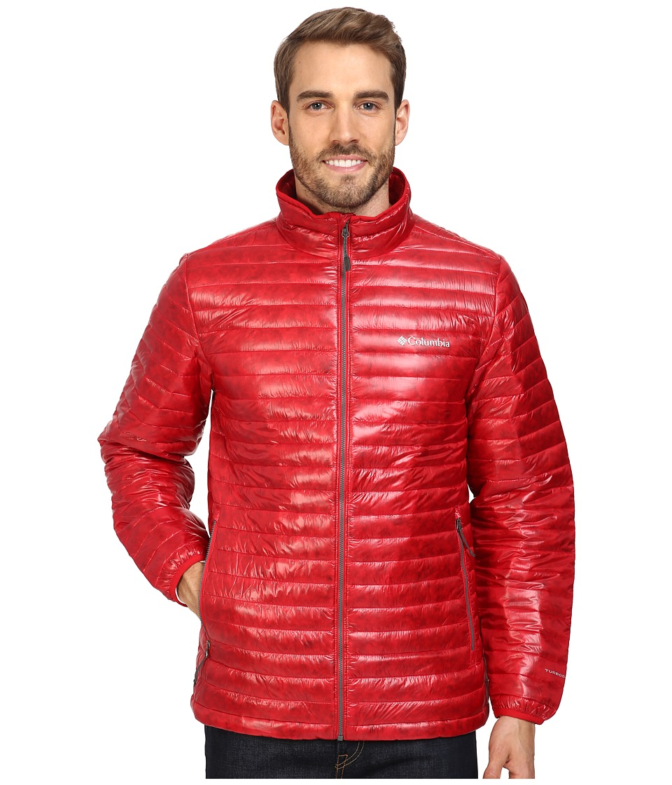 Columbia - Platinum Plus 740 TurboDown Jacket (Mountain Red) Men's Coat