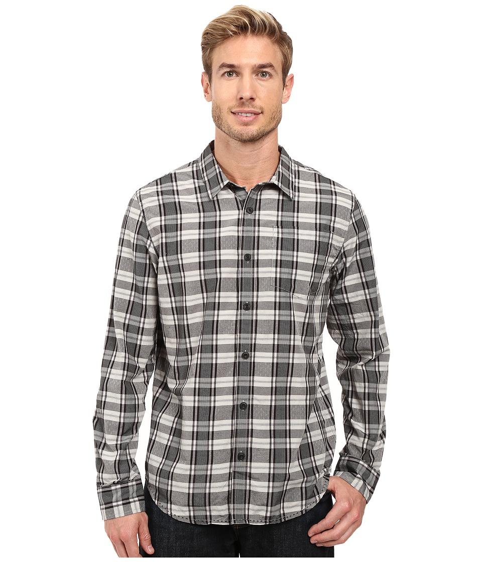 Prana - Yearby Slim Shirt (Charcoal) Men's Clothing