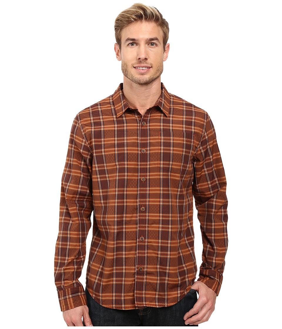 Prana - Yearby Slim Shirt (Picante) Men's Clothing