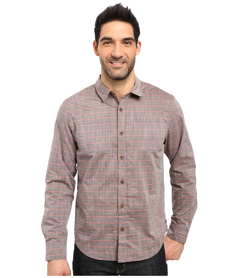Prana - Bergamont Slim Shirt (Fireball) Men's Clothing