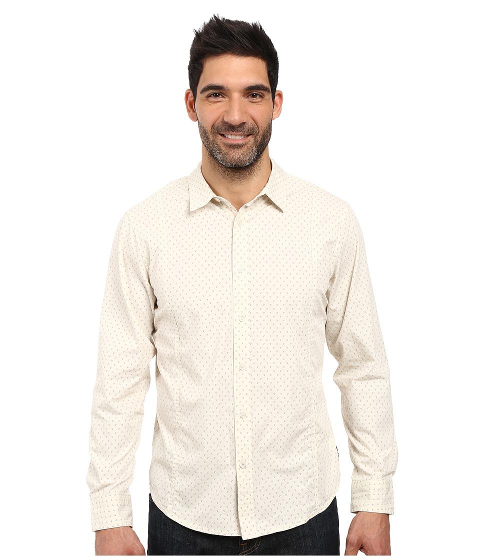 Prana - Lukas Shirt (Stone) Men's Long Sleeve Button Up