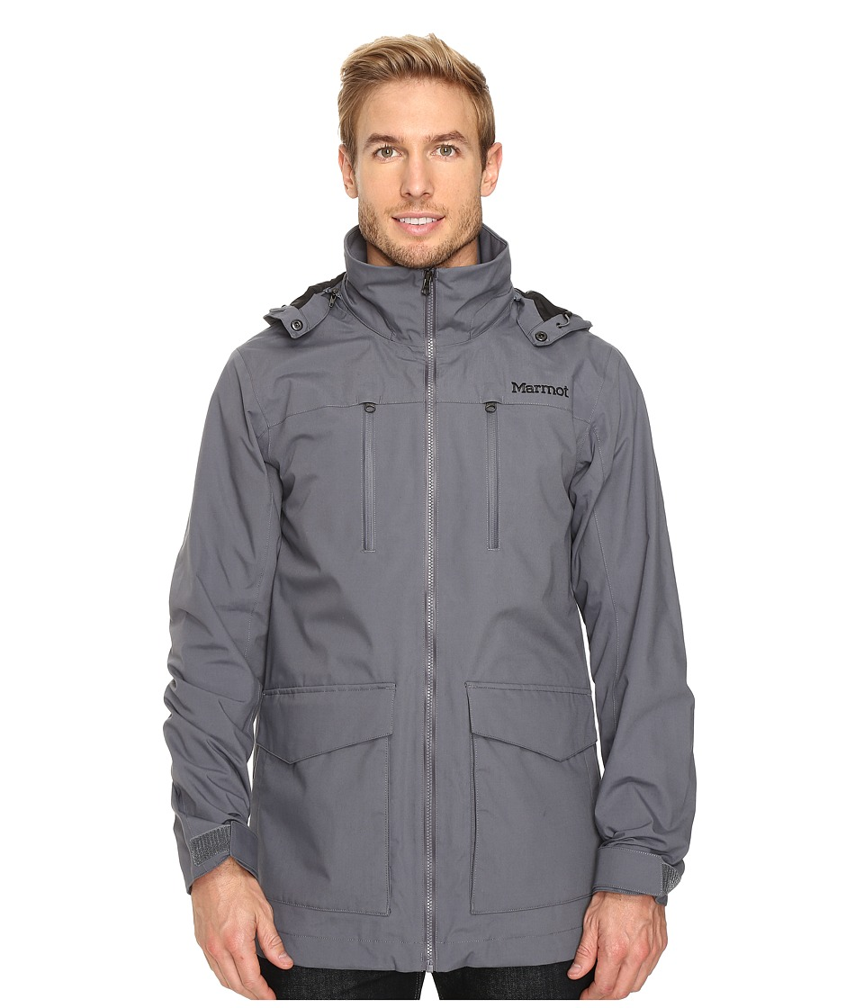 Marmot - Elmhurst Jacket (Steel Onyx) Men's Coat