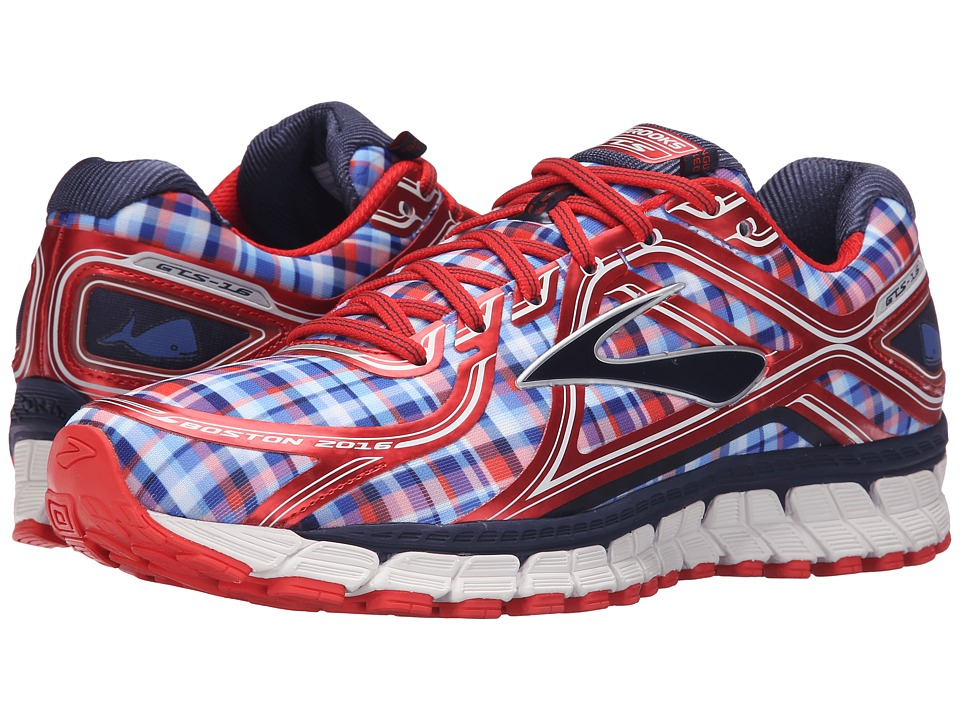 Brooks - Adrenaline GTS 16 (Poppy Red/Peacoat Navy/Strong) Men's Running Shoes