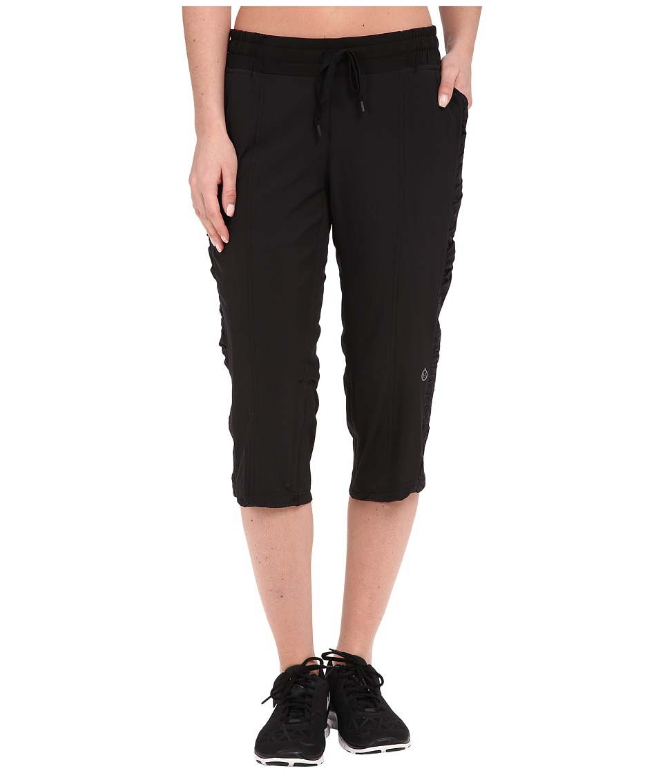tasc Performance - District Capris (Black) Women's Capri