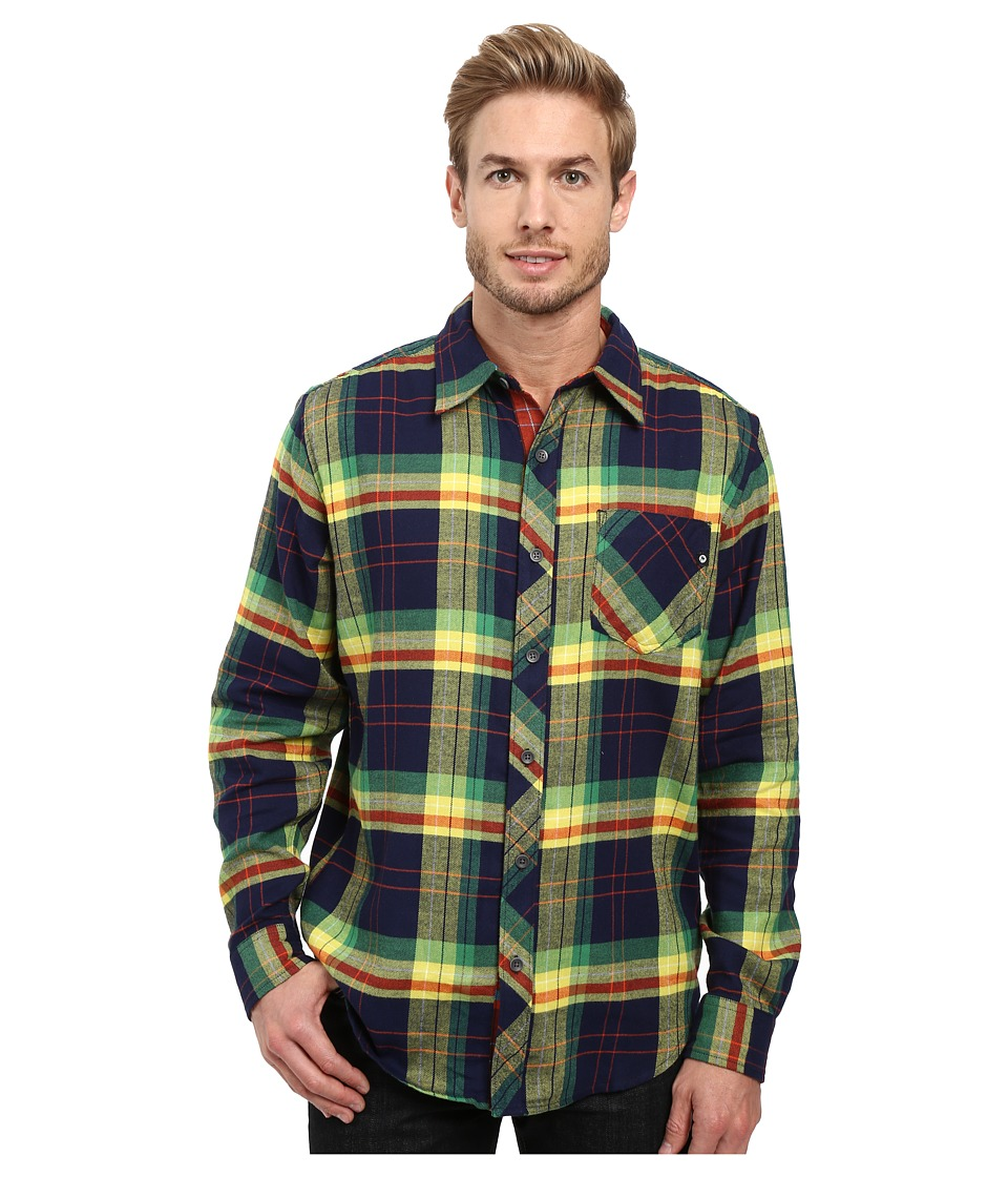 Marmot - Anderson Flannel Long Sleeve Shirt (Arctic Navy) Men's Long Sleeve Button Up