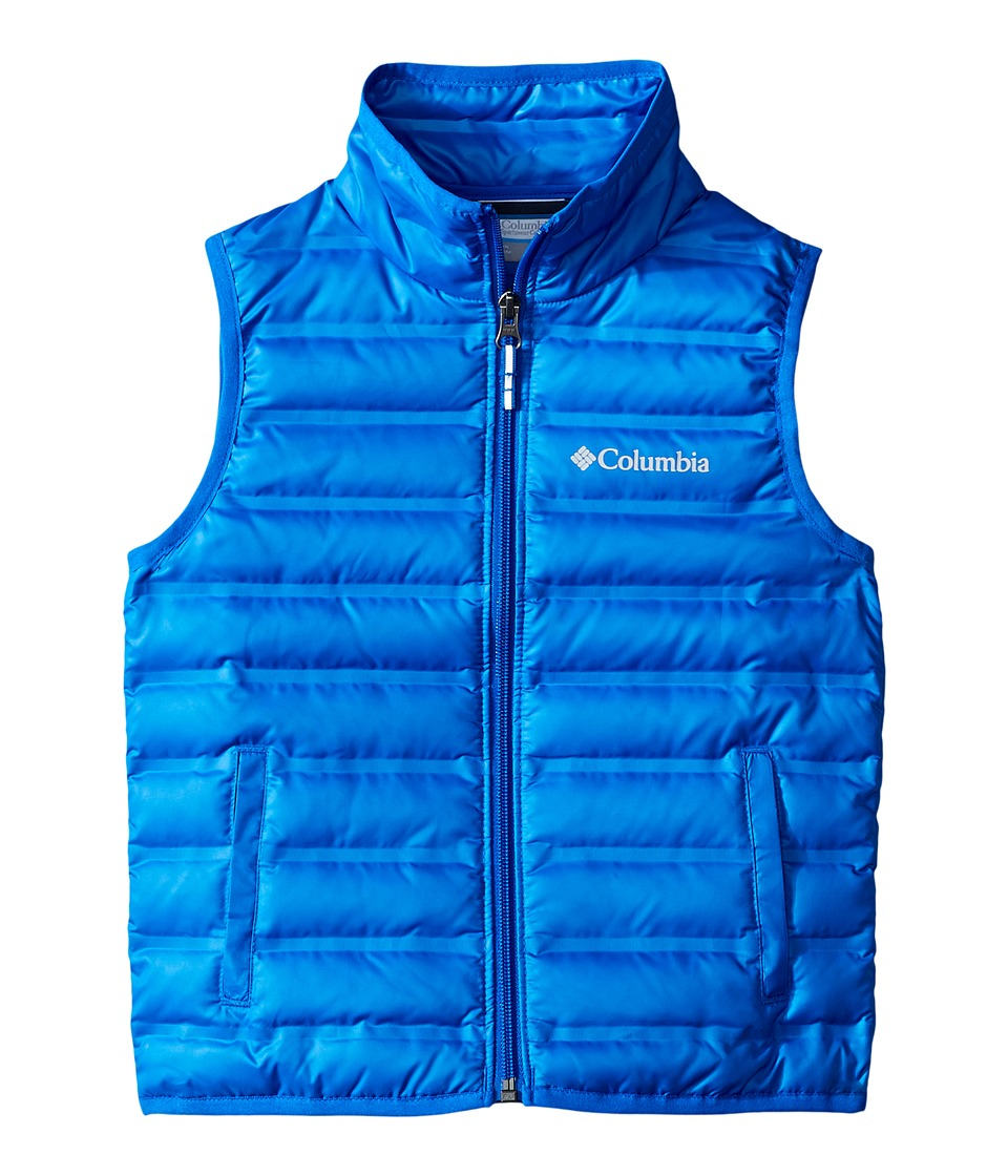 Columbia Kids - Flash Forward Down Vest (Little Kids/Big Kids) (Super Blue) Boy's Vest