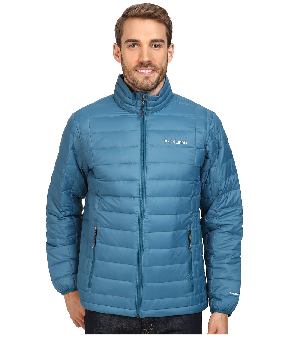 Columbia - Voodoo Falls 590 TurboDown Jacket (Deep Water) Men's Coat