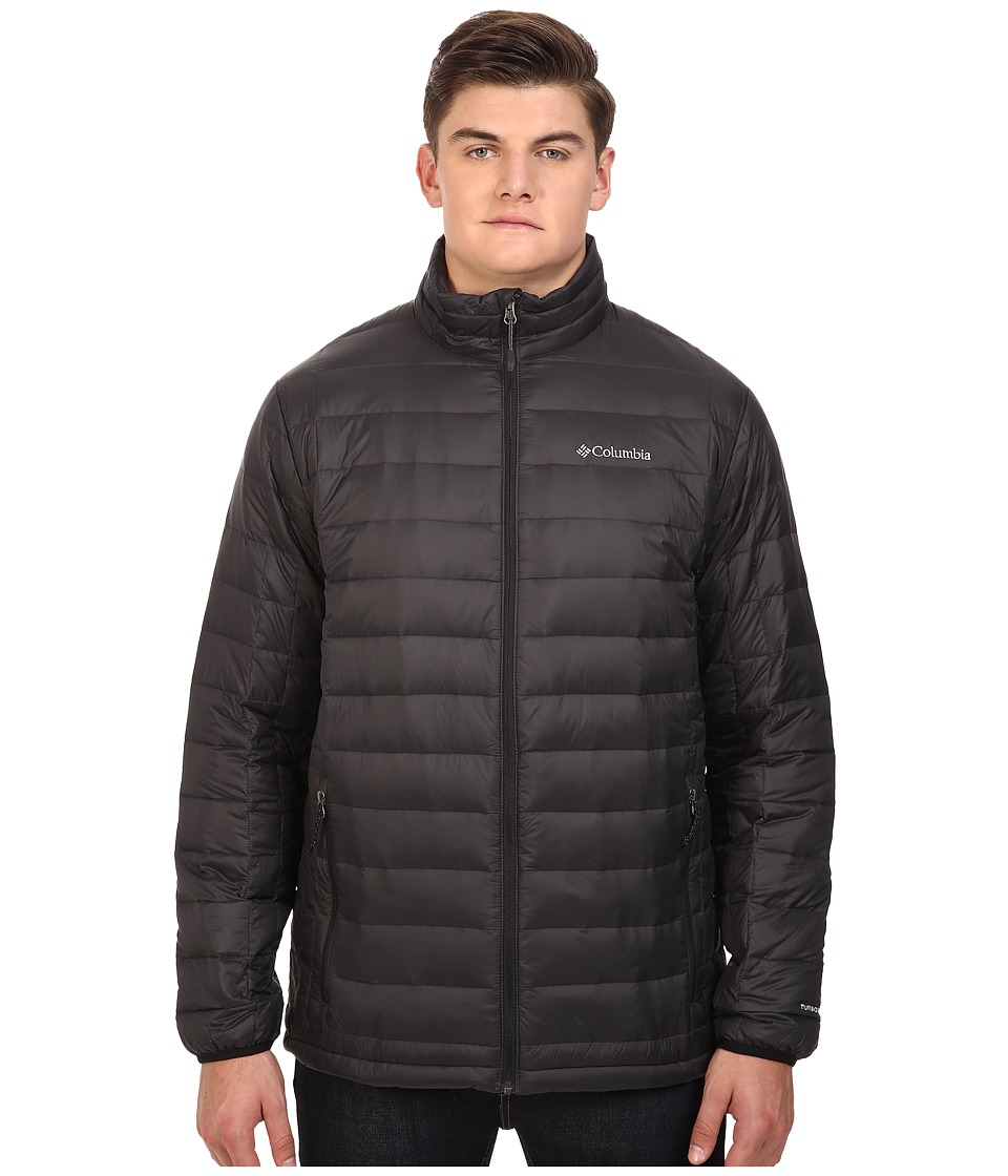 Columbia - Voodoo Falls 590 TurboDown Jacket - Extended (Black) Men's Coat