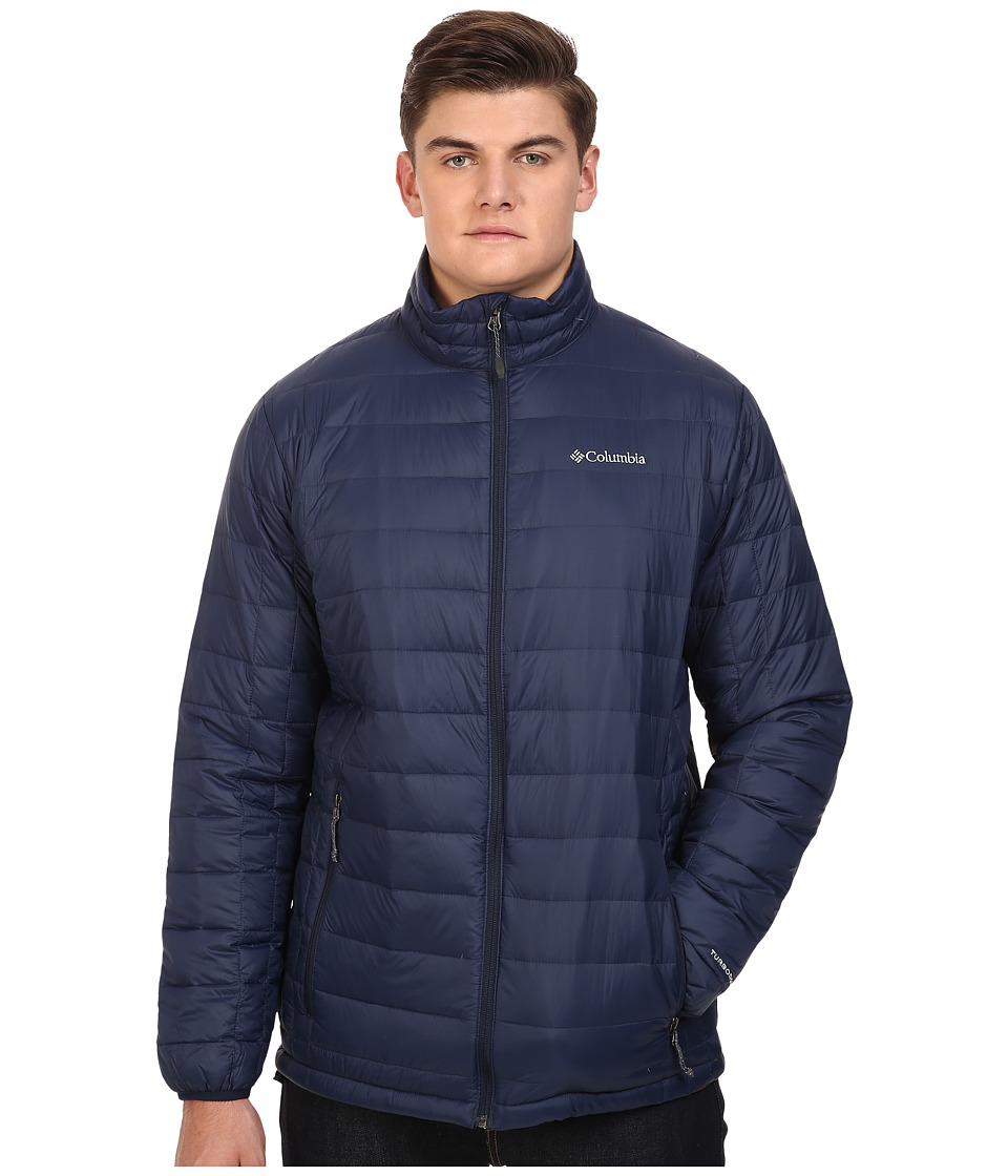 Columbia - Voodoo Falls 590 TurboDown Jacket - Extended (Collegiate Navy) Men's Coat